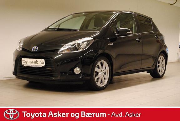 Toyota Yaris 1,5 Hybrid Style RENTEKAMPANJE 2,95% Lav Km. 1 Eier  2013, 21300 km, kr 179000,-