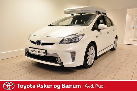 Toyota Prius 1,8 VVT-i Plug-in Hybrid Premium  2012, 56100 km, kr 239000,-