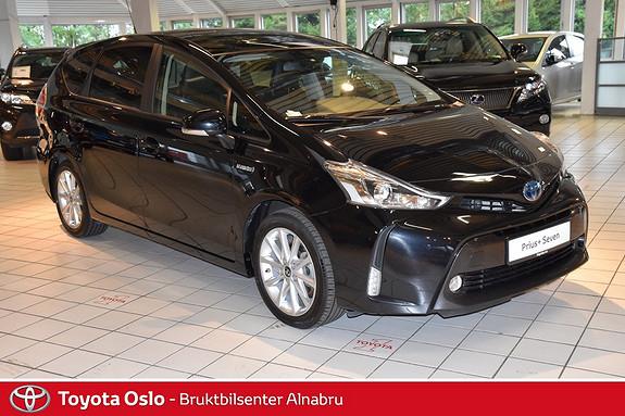 Toyota Prius+ Seven 1,8 VVT-i Hybrid Executive Skyview Glasstak, DAB + , Navi,  2015, 32115 km, kr 344900,-