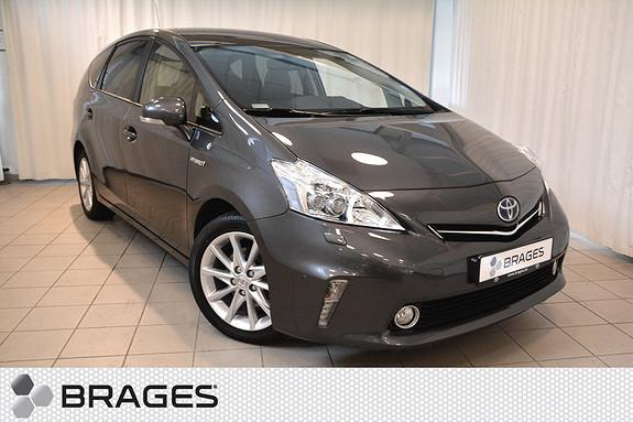 Toyota Prius+ Seven 1,8 VVT-i Hybrid Premium 1-eier, Skinn, Pano, Tectyl, Navi, Cruise, Ryggekam +++  2013, 56100 km, kr 285000,-