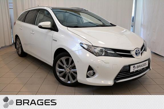 Toyota Auris Touring Sports 1,8 Hybrid Executive 1-eier! Skinn, Panorama, Cruise, Ryggekam +++  2014, 39300 km, kr 269000,-