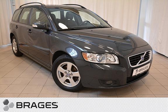 Volvo V50 1,8 Flexifuel Momentum 125 HK BENSIN Skinn, Krok, Ryggesensor, Cruise, Ny Service  2009, 129500 km, kr 119000,-