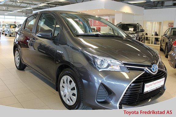 Toyota Yaris 1,5 Hybrid Active e-CVT , DAB, Ryggekamera,  2015, 49500 km, kr 189000,-