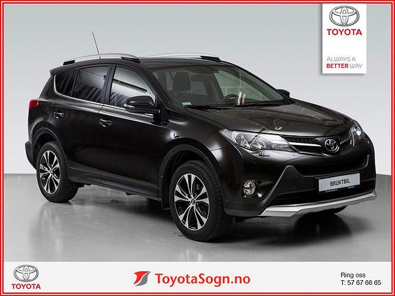Toyota RAV4 2,0 D-4D 4WD 71'N Editon  2015, 27000 km, kr 379000,-