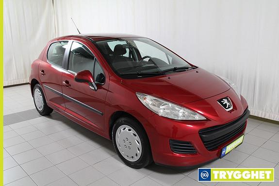 Peugeot 207 1,4 Active 75 hk Radio/Cd,el.vinduer foran,isofix