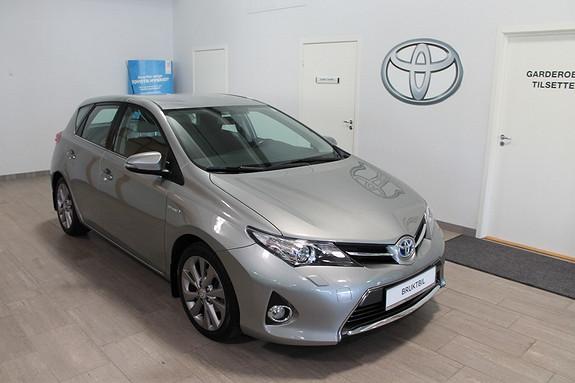 Toyota Auris 1,8 Hybrid E-CVT Active+ **VELHOLDT**NYBILGARANTI**RYGGEKAMERA**  2013, 46000 km, kr 209000,-