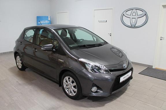 Toyota Yaris 1,5 Hybrid Active **LAV KM**VELHOLDT**NYBILGARANTI  2013, 27300 km, kr 175000,-