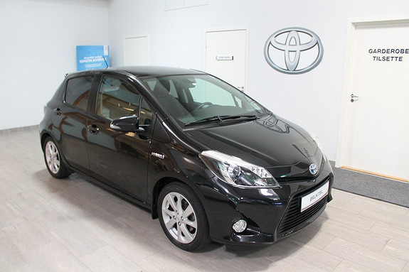 Toyota Yaris 1,5 Hybrid Style **PANORAMATAK**NYBILGARANTI**VELHOLDT  2013, 45000 km, kr 169000,-