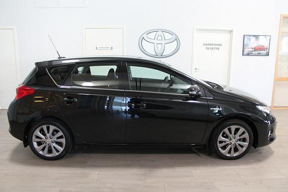 Toyota Auris 1,8 Hybrid E-CVT Active **VELHOLDT**LAV KM**NYBILGARANTI**RYGGEKAMERA  2013, 39000 km, kr 199000,-