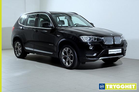 BMW X3 xDrive20d 190hk aut -NaviPro-Hengerfeste-HiFi-xLine-Bluetooth++