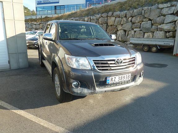 Toyota HiLux D-4D 144hk Double Cab 4WD SR NB! NYE BILDER KOMMER! PERSONBIL  2015, 30931 km, kr 559000,-
