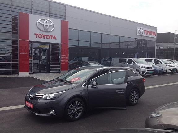 Toyota Avensis 1,8 147hk Advance Multidrive S (3 år/45 000 km service og dekkhotel 3 år ink)  2014, 36300 km, kr 289000,-