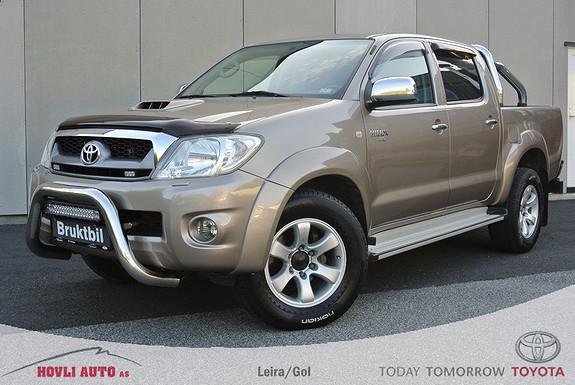 Toyota HiLux D-4D 171hk D-Cab Aut 4wd SR+ H.feste - Led Bar - 2,95% rente - 1 års garanti  2011, 87885 km, kr 309900,-