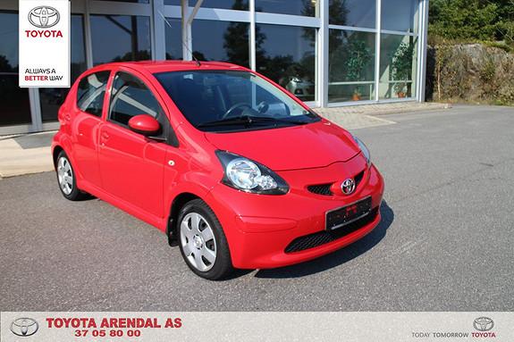 Toyota Aygo 1,0 + 5-d Bensin gjerrig bil med god kjørecomfort  2008, 79800 km, kr 59000,-