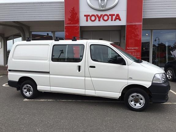 Toyota HiAce D-4D 5-d 117hk 4WD lang  2008, 194347 km, kr 149000,-