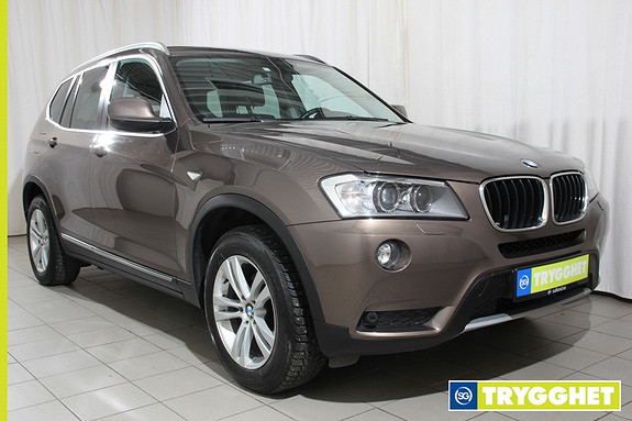 BMW X3 xDrive20d (184hk) Automat 184hk, Navigasjon, Hengerfeste, Delskinn ++