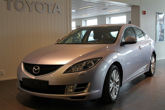 Mazda 6 2,2 D 125 hk Advance  2009, 81000 km, kr 135000,-