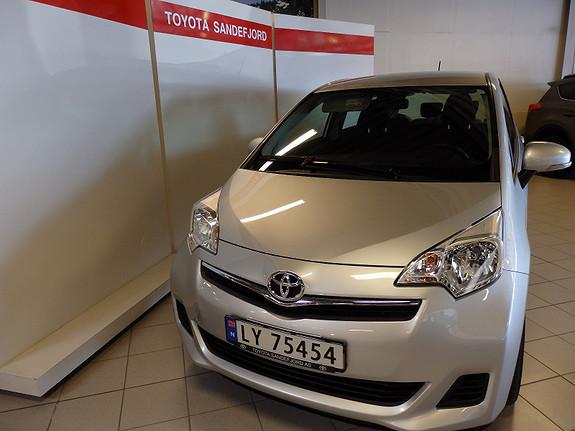 Toyota Verso-S 1.33VVT-i Dynamic  2013, 34000 km, kr 169000,-