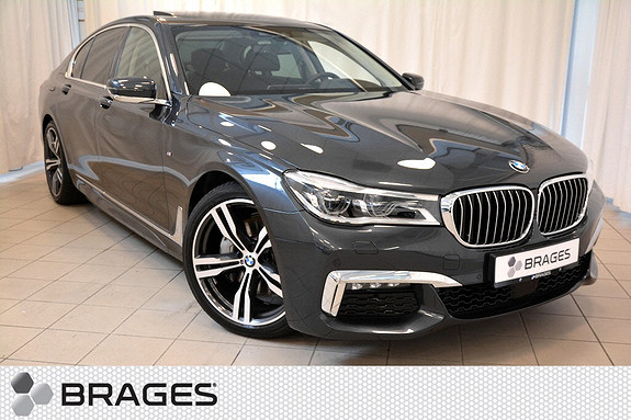 BMW 7-serie 730d xDrive    FLAGGSKIP fra BMW! Vinner av World Luxury Car Award, Må Oppleves!!  2016, 7 600 km, kr 1 249 000,-