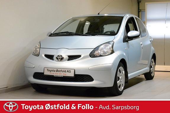 Toyota Aygo 1,0 + 5-d , EN EIER / KOMPLETT SERVICEHEFTE,  2006, 26300 km, kr 62000,-