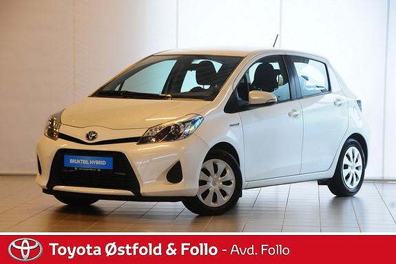 Toyota Yaris 1,5 Hybrid Active e-CVT  2013, 72536 km, kr 155000,-