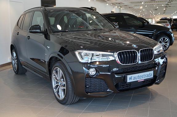 BMW X3 2,0i xDrive M-sport Fullutstyrt  2016, 4500 km, kr 719000,-