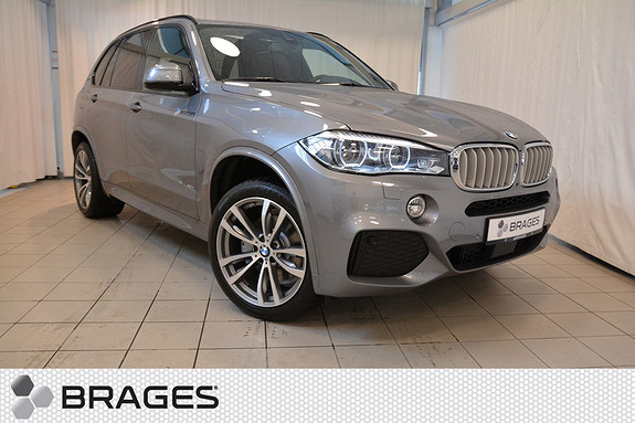 BMW X5 xDrive40e, NORSK MSPORT NAVI KROK PANORAMA HEAD-UP LED ADAPTIV CUISE HAMAN KARDON +++  2016, 3 000 km, kr 999 000,-