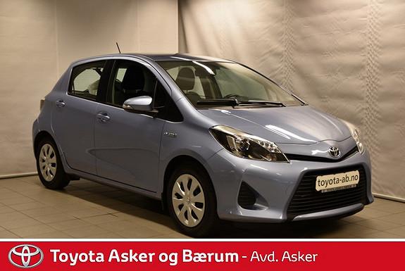 Toyota Yaris 1,5 Hybrid Active RENTEKAMPANJE 2,95%  2013, 47200 km, kr 169000,-