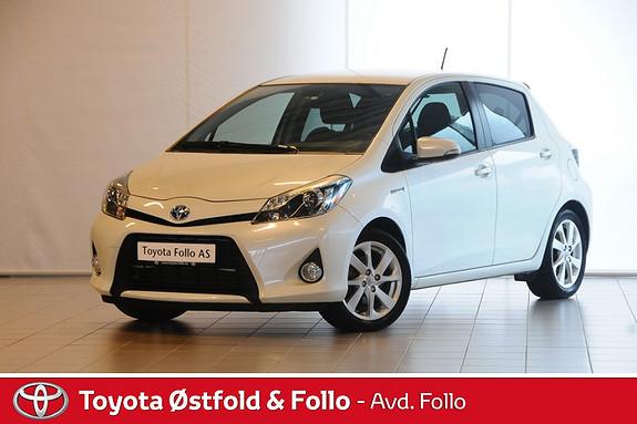 Toyota Yaris 1,5 Hybrid Style  2013, 47506 km, kr 178000,-