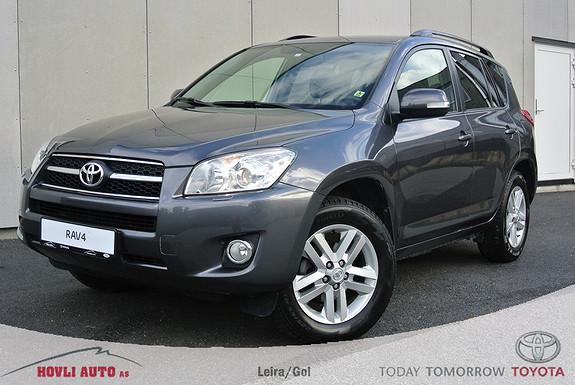 Toyota RAV4 2,2 D-4D Executive En Eier - H.feste - Skinn - 2,95% rente - 1 års bruktbilgaranti  2010, 96800 km, kr 229900,-