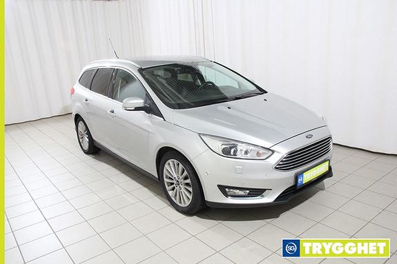 Ford Focus 1,0 EcoBoost 125hk Titanium X Stasjonsvogn