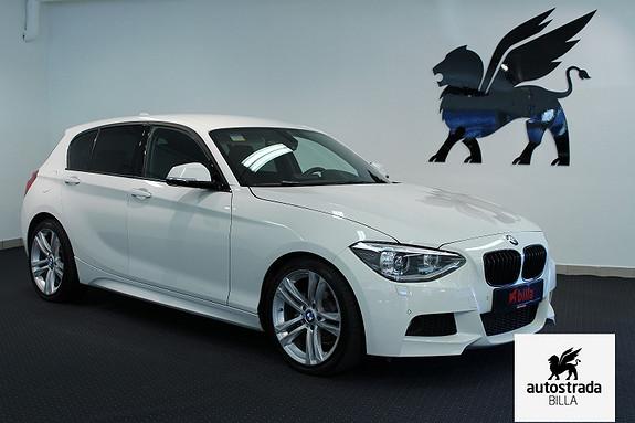 BMW 1-serie M-Sport H.K HiFi PDC Xenon Aut. Lys  2012, 52000 km, kr 229000,-