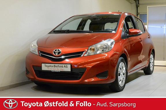 Toyota Yaris 1,33 Active , TILHENGERFESTE / NAVIGASJON M.M.,  2012, 74800 km, kr 145000,-