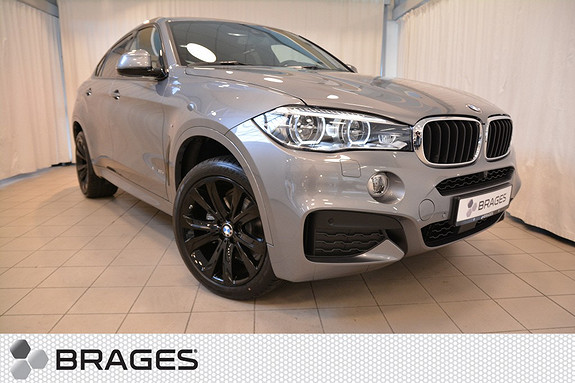 BMW X6 30D 258HK NORSK FULL PAKKE KOMFORTSETER KROK NIGHT VISION HEAD UP SOLTAK+++  2017, 2 500 km, kr 1 150 000,-