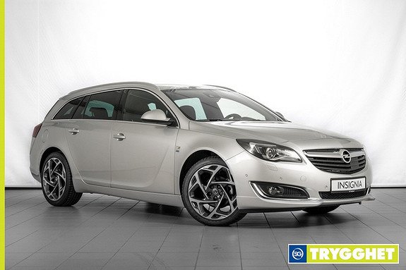 Opel Insignia Sports Tourer 1,6 CDTi 136hk Premium 2X OPC LINE-HENGERFESTE-SKINN-ADAPTIV CRUISE