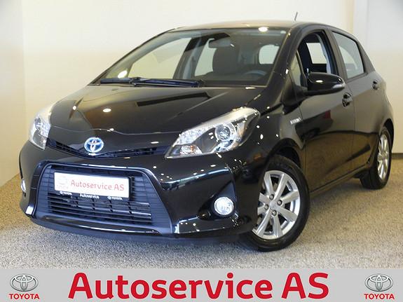 Toyota Yaris 1,5 Hybrid Active e-CVT NB: LAV KM  2014, 8000 km, kr 189000,-