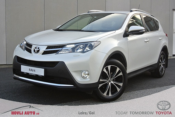 Toyota RAV4 2,0 D-4D 4WD Executive Understellsbehandlet - 2,95% Rente - Skinn - Garanti 2020!  2015, 35800 km, kr 389900,-