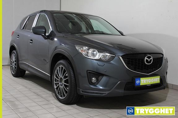 Mazda CX-5 2,2D 150hk Sport 4x4 aut. SKINNSETER!!NAVIGASJON!!RYGGEKAMERA!!LASTESTATIV!!DAB!!