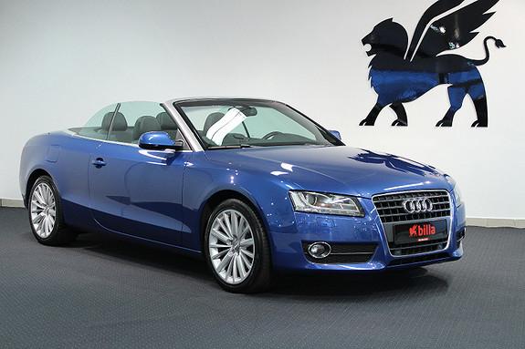 Audi A5 2.0TFSI Aut. Cabriolet Navi Xenon  2011, 94000 km, kr 299000,-