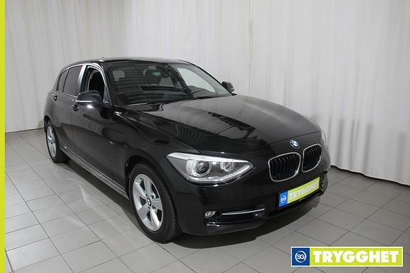 BMW 1-serie 118d xDrive 143hk Advantage Edition Sportline, 4hjulstrekk, Ny i Norge, 1 eier