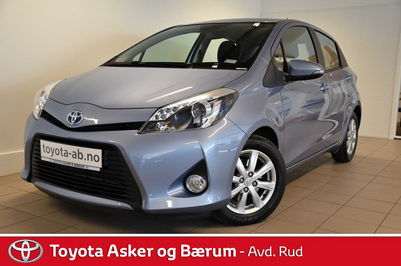Toyota Yaris 1,5 Hybrid Active e-CVT  2014, 3850 km, kr 189000,-