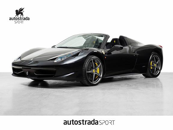 Ferrari 458 Spider 570HK  2012, 14500 km, kr 2590000,-