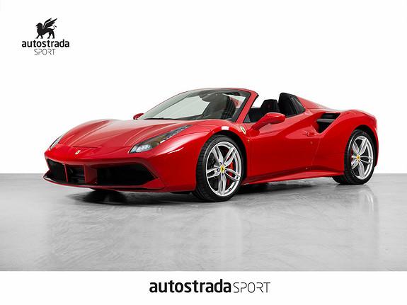 Ferrari 488 Spider 670HK  2017, 100 km, kr 4290000,-