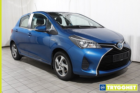 Toyota Yaris 1,5 Hybrid Active Automat-Ryggekamera-DAB-Navigasjon-Bluetooth-Nybilgaranti