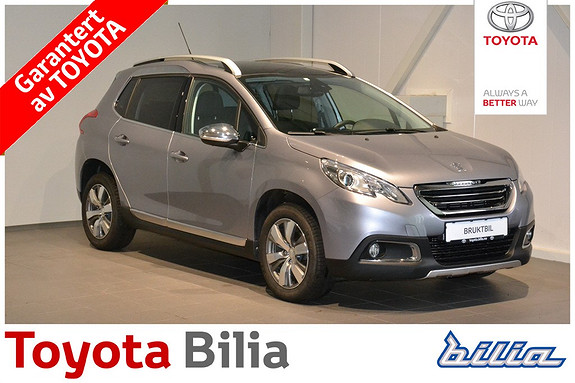 Peugeot 2008 Allure 1,2 PureTech 82hk ETG5  2015, 14361 km, kr 209000,-