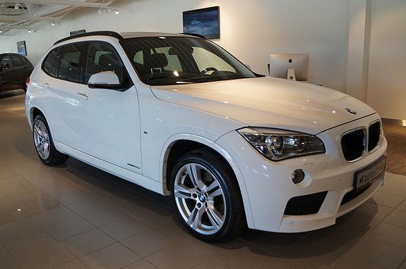 BMW X1 18xDrive M-sport Navi proff/H.feste  2014, 37500 km, kr 399000,-