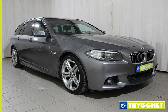 BMW 5-serie 520d xDrive 163hk Advantage Edition aut. M sport, Navi, Panorama