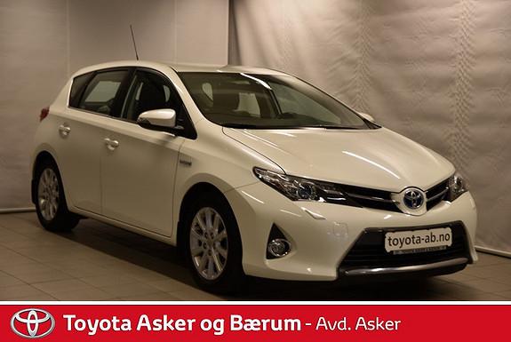 Toyota Auris 1,8 Hybrid E-CVT Active RENTEKAMPANJE 2,95%  2013, 60000 km, kr 202000,-