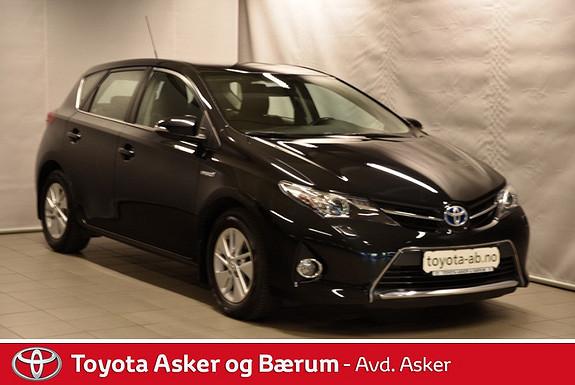 Toyota Auris 1,8 Hybrid E-CVT Active RENTEKAMPANJE 2,95%  2013, 30500 km, kr 215000,-