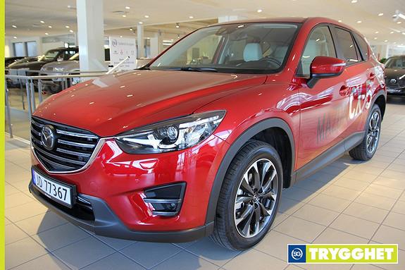 Mazda CX-5 2,2D 150hk Optimum AWD aut. Demobil/Navi/Skinn/LED/Kamera